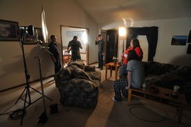 Filmmaking Behind the Scenes on Dispirited
